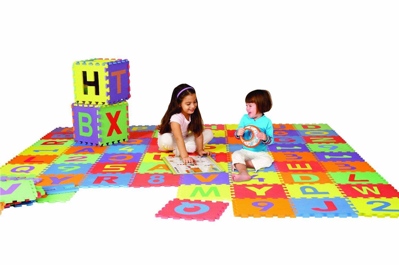 Edushape Edu Tiles 36 Piece 6x6ft Play