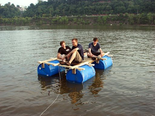 Homemade Raft