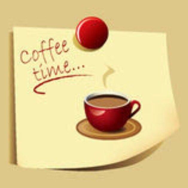 Tempo da cafeína! É hora sagrada.