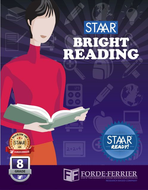 Texas STAAR Bright Reading Workbook: Grade 8 | Staar ...