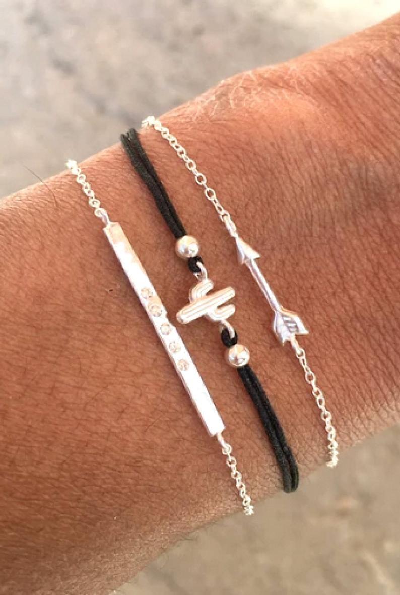 Friendship bracelet set mothers day gift for sister gift