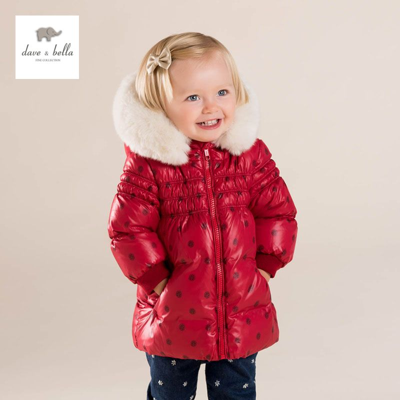c25930305456 Click to Buy    DB4083 dave bella baby girls cute baby red dot ...
