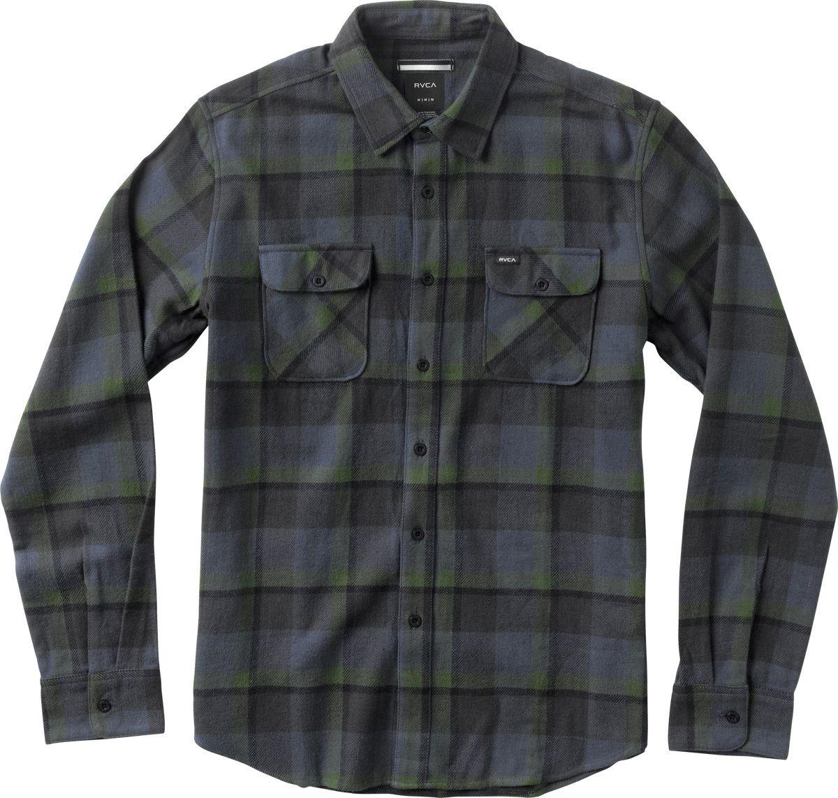 Telltale flannel long sleeve shirt rvca canada shirts