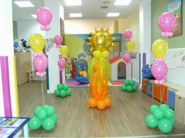 Aprender decoracion con globos c mo decorar una fiesta for Decoracion para ninos