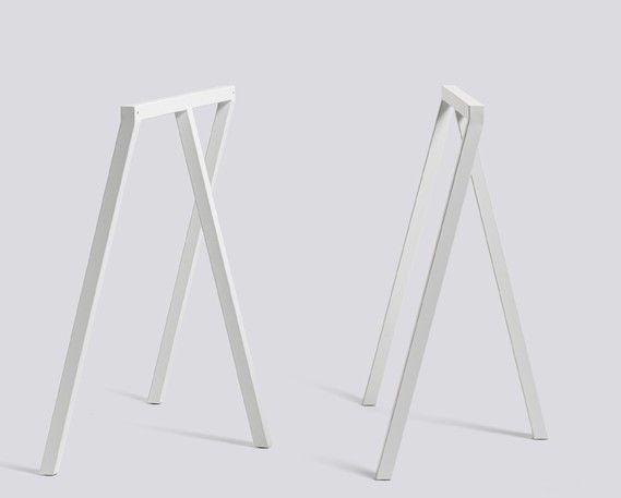 Hay Tischböcke tischböcke loop stand frame hay in der farbe weiß flat