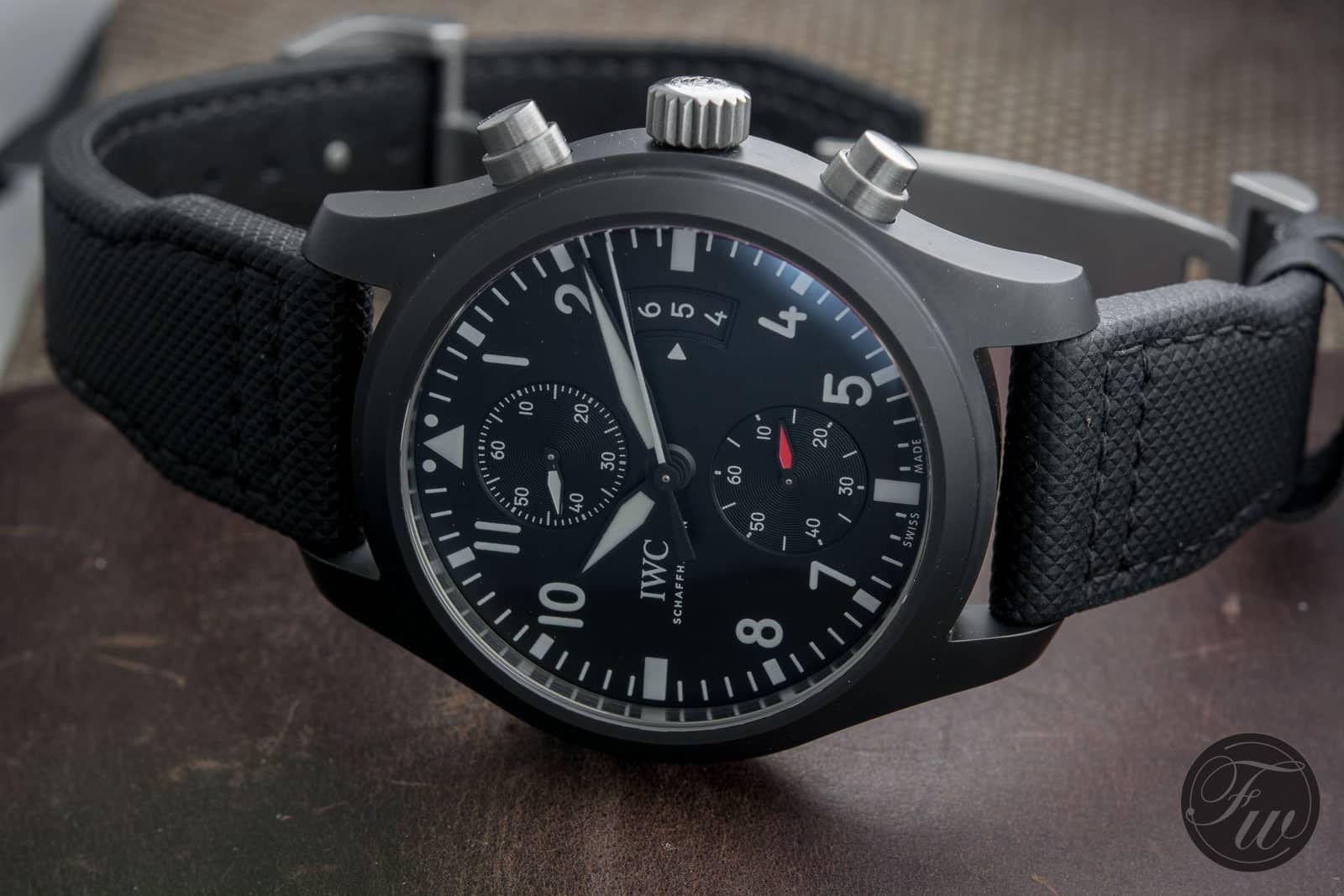 0c6b09d78b37 IWC Pilot Chronograph Top Gun