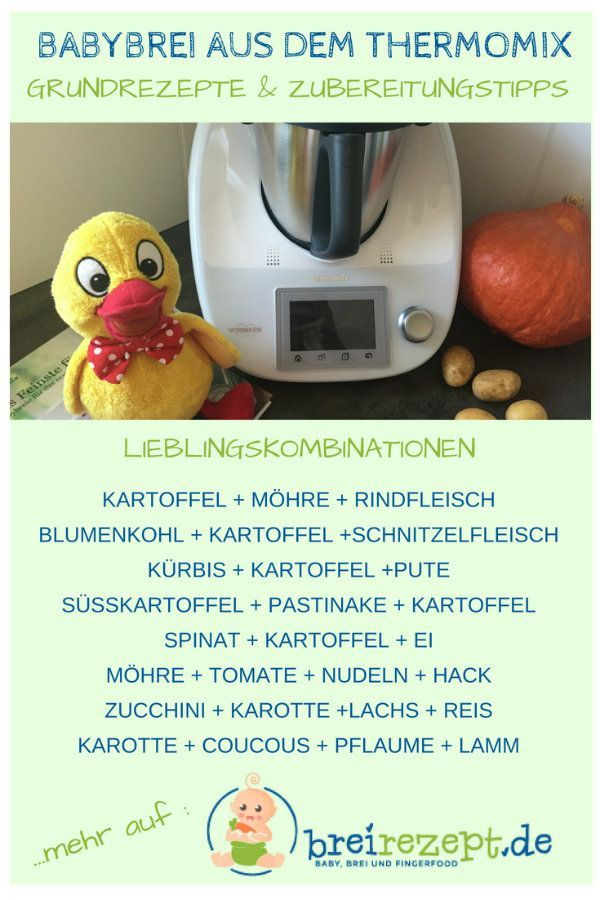 Photo of Baby porridge with the Thermomix: I will show you on the basis of basic recipes how to … »Nutrition plan