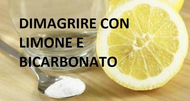 limone con bicarbonato di sodio per perdere peso