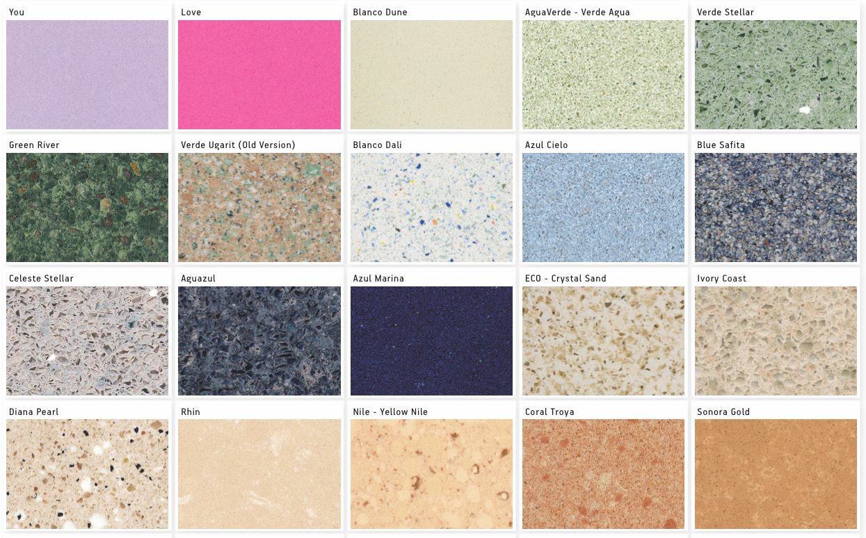 Silestone Colours 1 By Cosentino