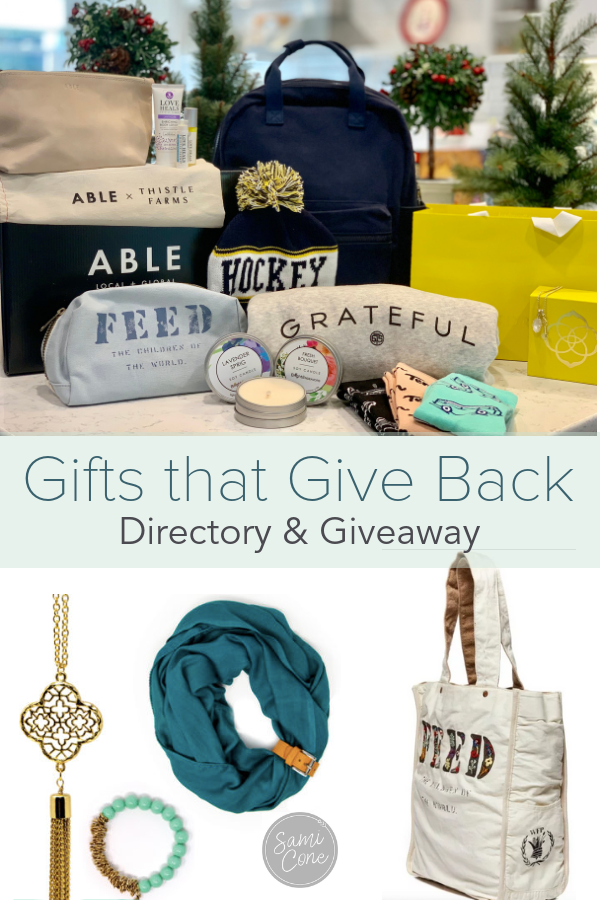 Gifts That Give Back 13 Charity Gifts She Ll Actually Love Charity Gifts Gifts Charity
