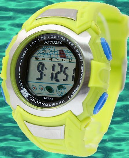 DW393 Dátum Alarm PNP Matt Silver Bezel Muži Ženy 100% testované 3ATM Digitálne hodinky