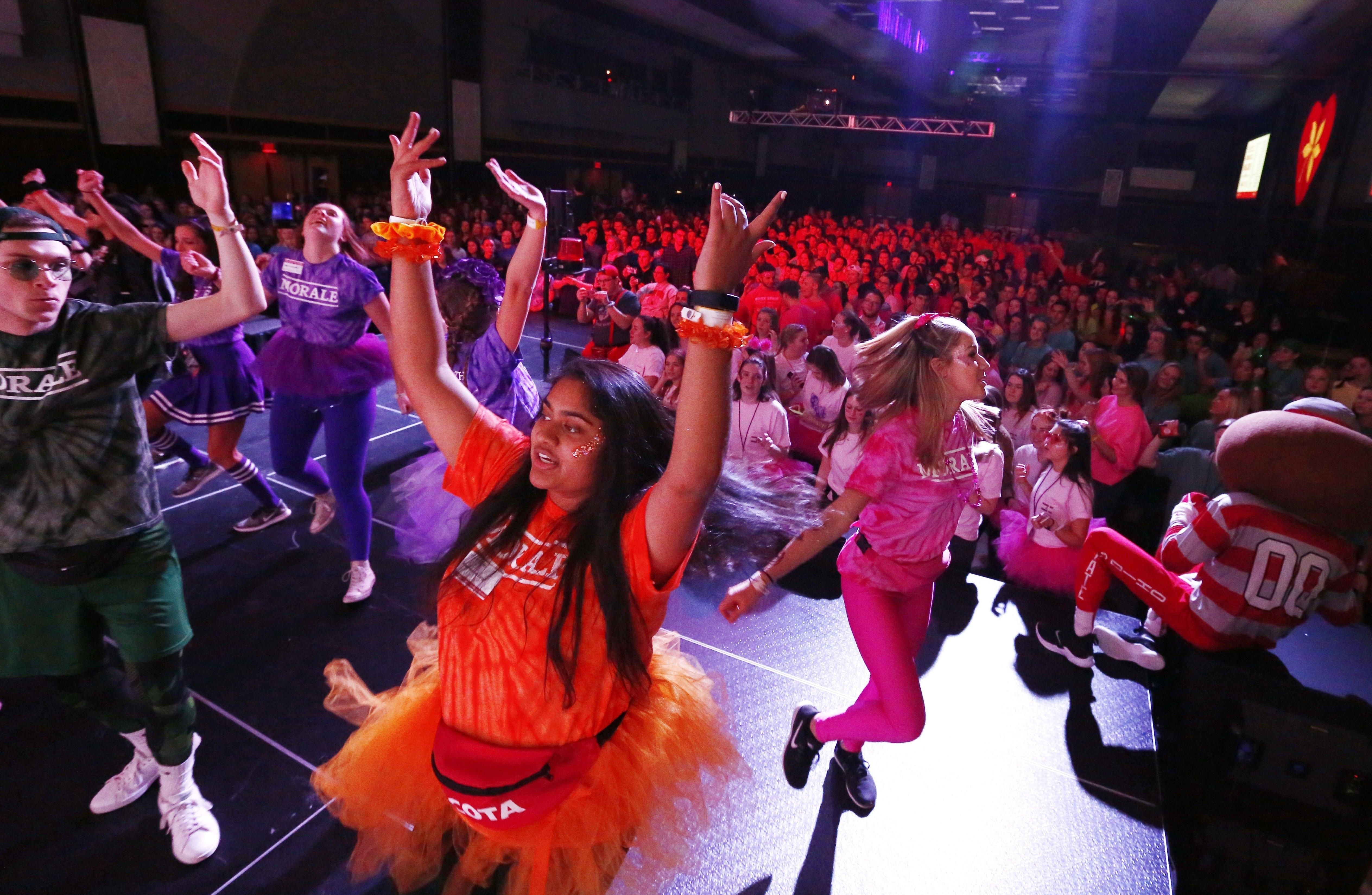 Partying with a purpose: Ohio State students take on pediatric