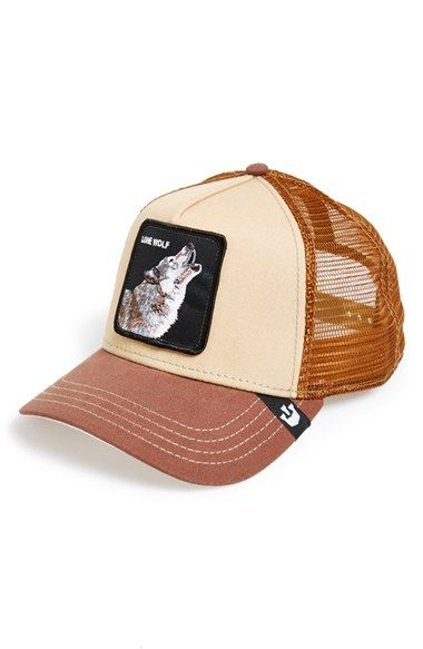 Men s Goorin Brothers  Animal Farm - Howler  Trucker Cap  9f9812a215f