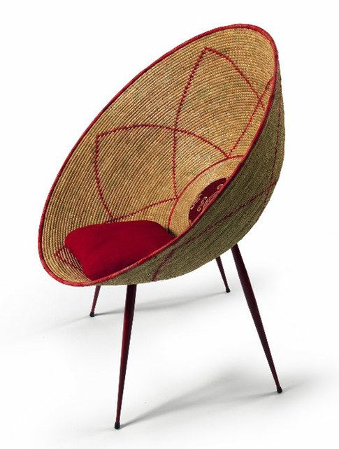 Superbe Woven African Bucket Chair Cool Chairs, Modern Furniture, Furniture Design,  Home Furniture,