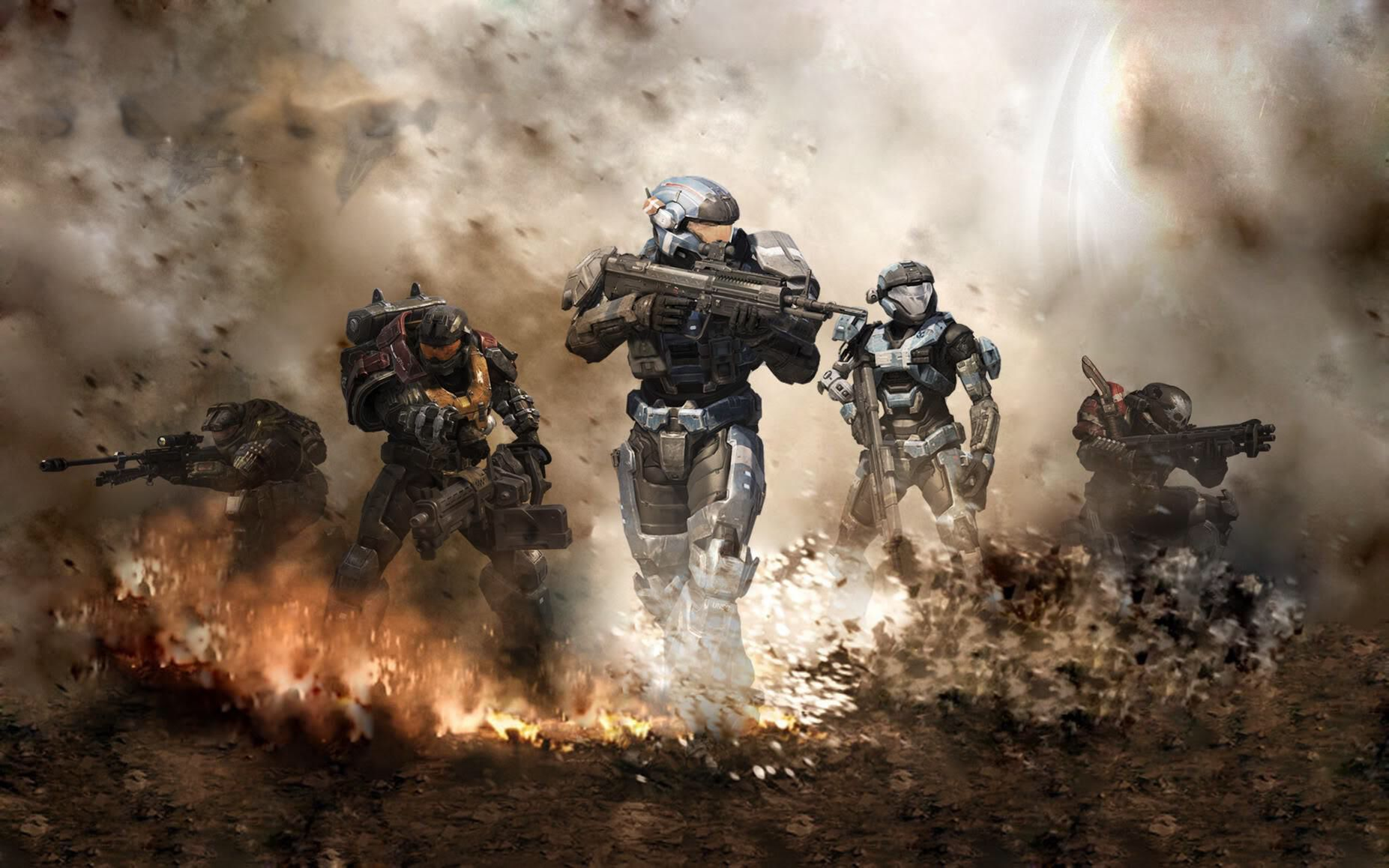 Share An Halo Game Wallpaper Download Game Wallpapers Http Itunes Apple Com App Id737393970 Halo Reach Halo Game Custom Halo