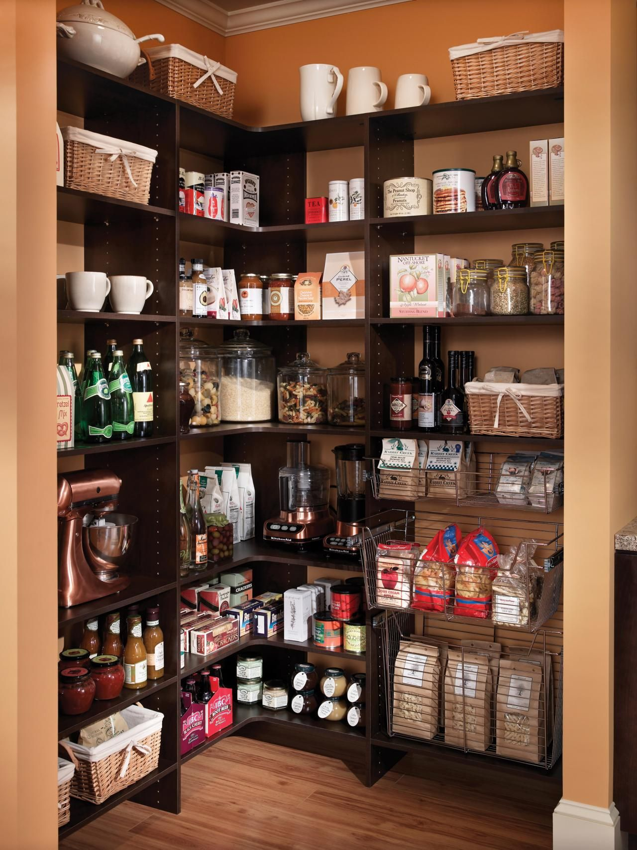 Kitchen Store Room Pictures Of Kitchen Pantry Options And Ideas For Efficient Storage