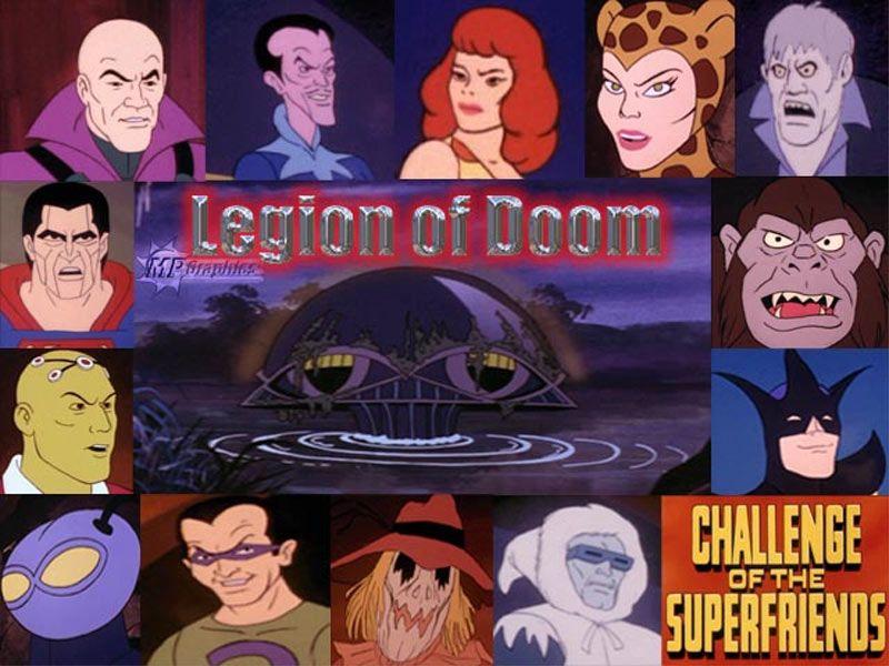 The Legion Of Doom | Superfriends, Comic villains, Super villains