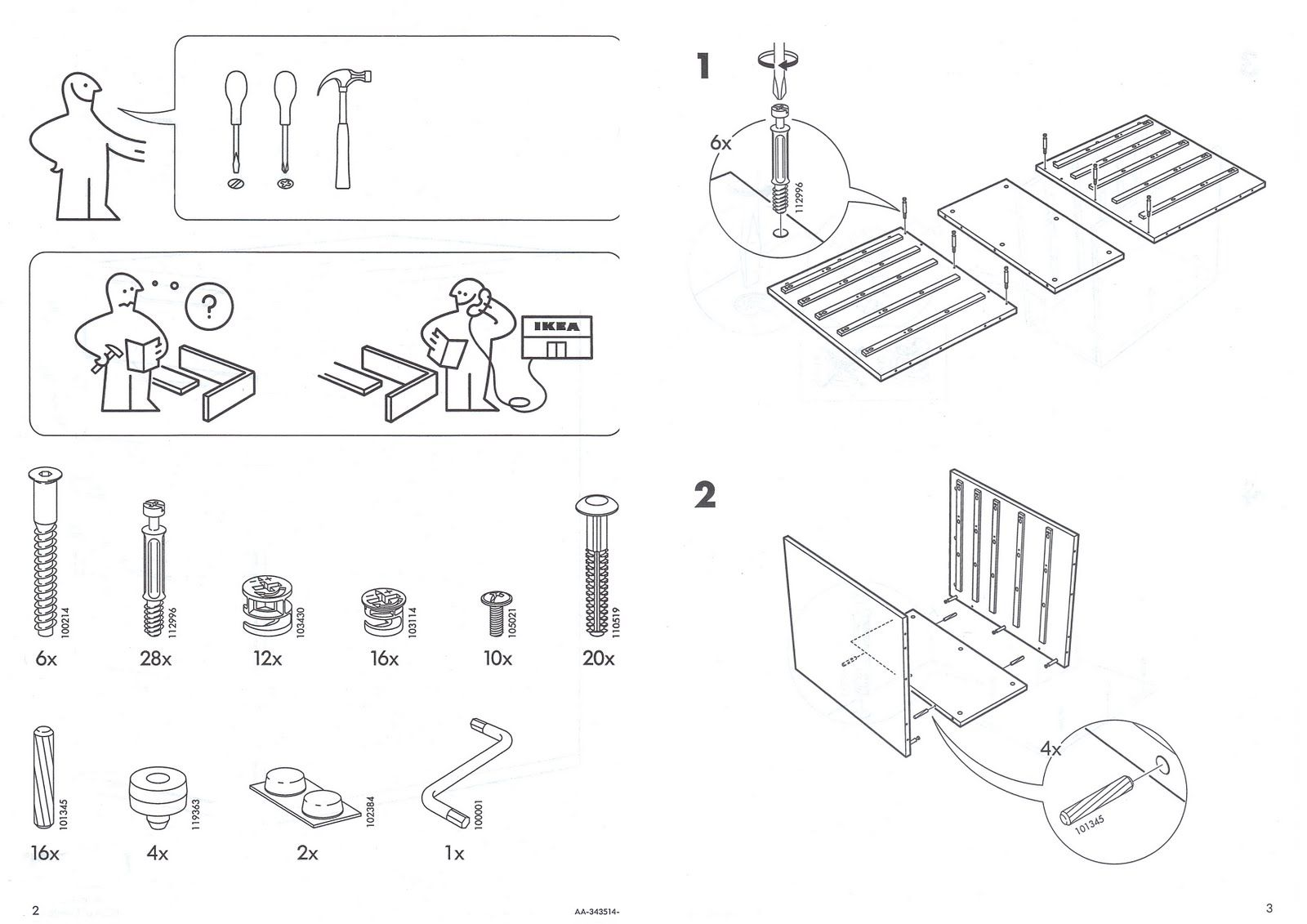 Ikea Manual  Instruction Manual Design
