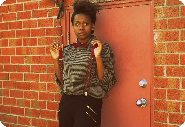 #suspenders #androgynous