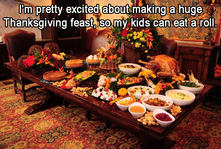 Funny Thanksgiving Cooking Memes