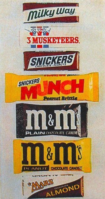 3fcb069db 1970s candy bar wrappers