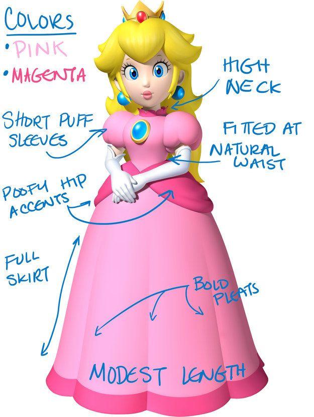 41 Wedding Dresses Inspired By Nintendo Princesses | Nintendo ...