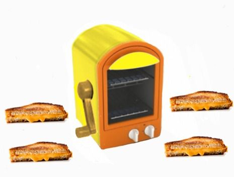 Need This New Invention The Hand Crank Toaster