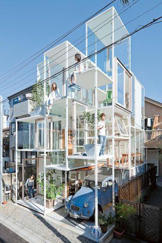 10 Audaciously Modern Japanese Houses | Japanese house, Sou fujimoto ...