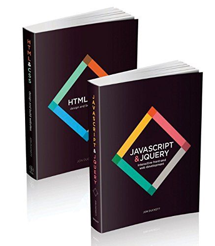 Web Design With Html Css Javascript And Jquery Set 1118907442 Low Price Books Learn Web Development Free Web Design Html Css