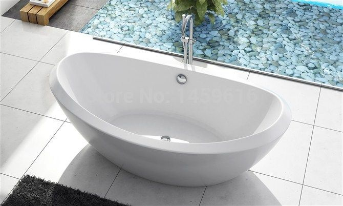 71 Sea Shipping Freestanding Bathtub And Acrylic Abs Composite