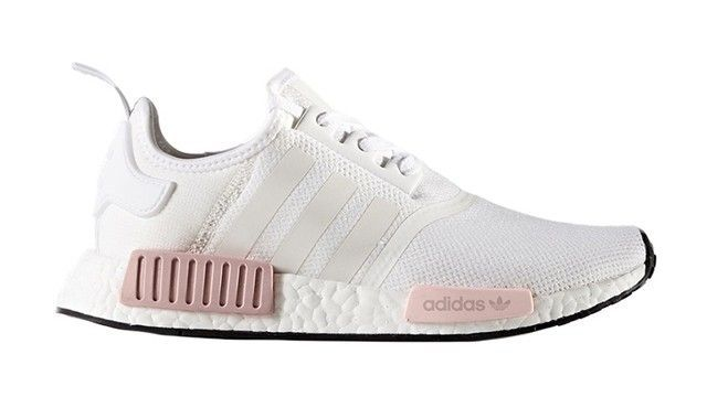 10a775f01 On Our Wish Lists  Adidas NMD R1 White Rose