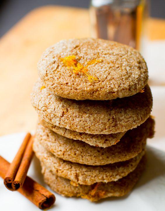 Citrus, Spice, Vanilla Company Cookies. - Healthy. Happy. Life. #vegan #glutenfree