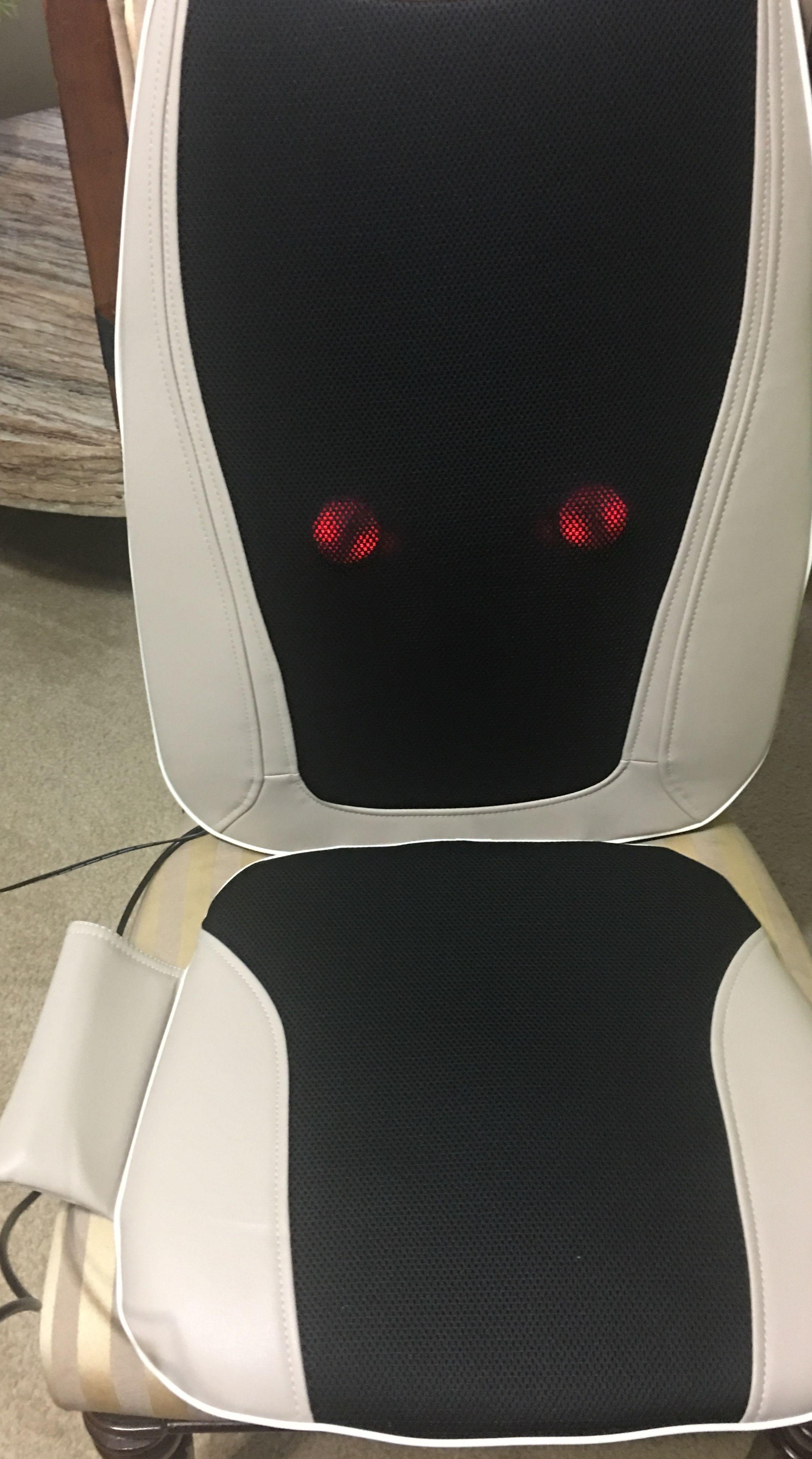 Belmint Seat Cushion Massager With Shiatsu Vibration And Heat Walmart Com Shiatsu Deep Tissue Massage Massage