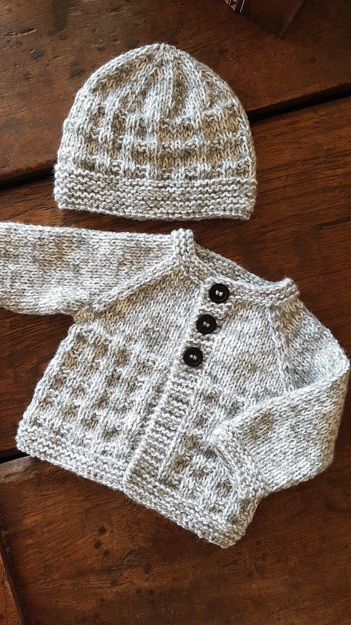 Photo of Charlie Baby Cardigan Jacket pattern by marianna mel