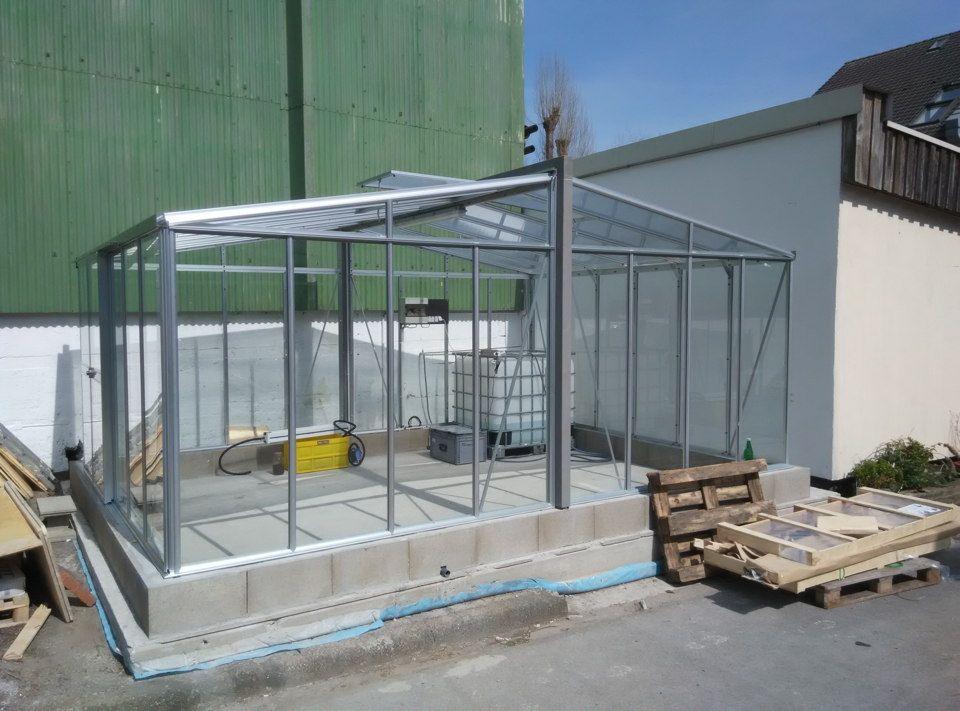 Gewächshaus, Biofilter und Kapillarbewässerung | Aquaponic | Pinterest