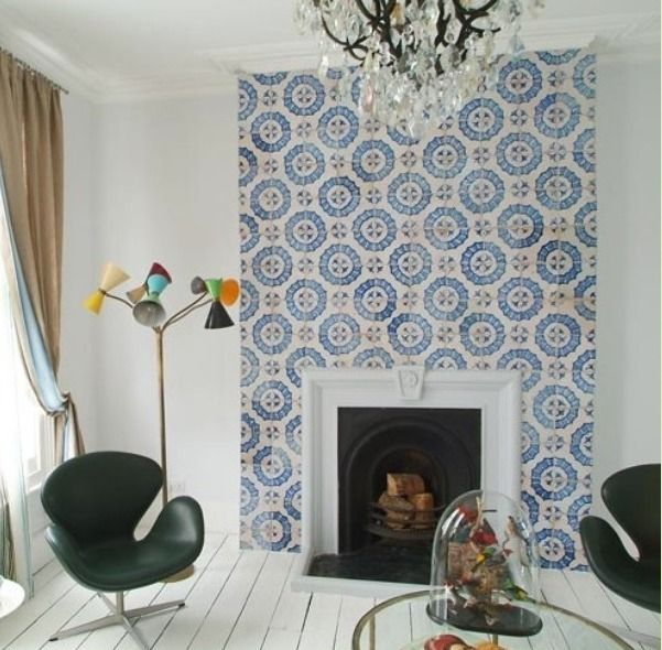 Cement Tile The Perfect Bath Fireplace Tile Surround Tile Inspiration Fireplace Tile