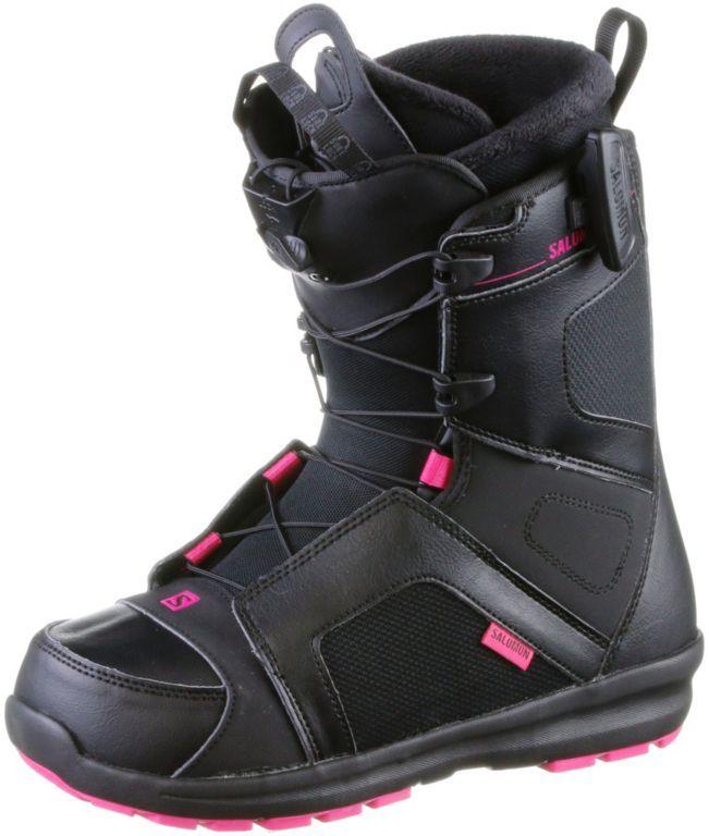 SalomonKEA  Snowboard BootsDamen  BLACK/Magenta/BLACK