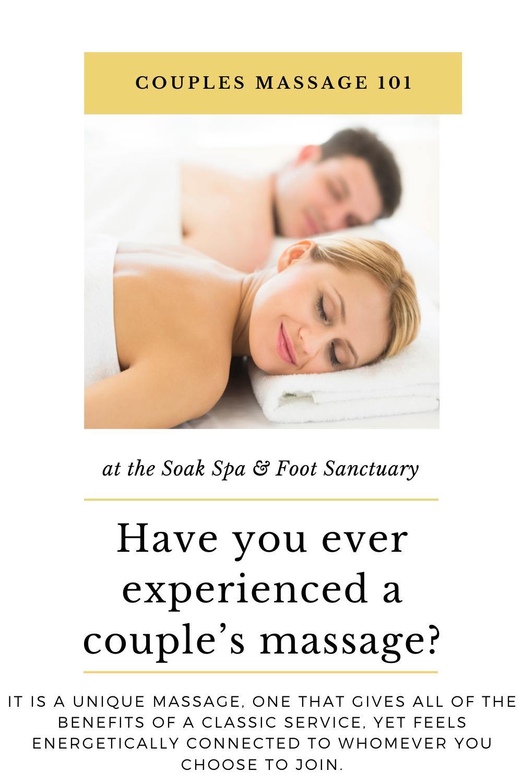 Couples Massage 101 | Couples massage, Massage, Couples