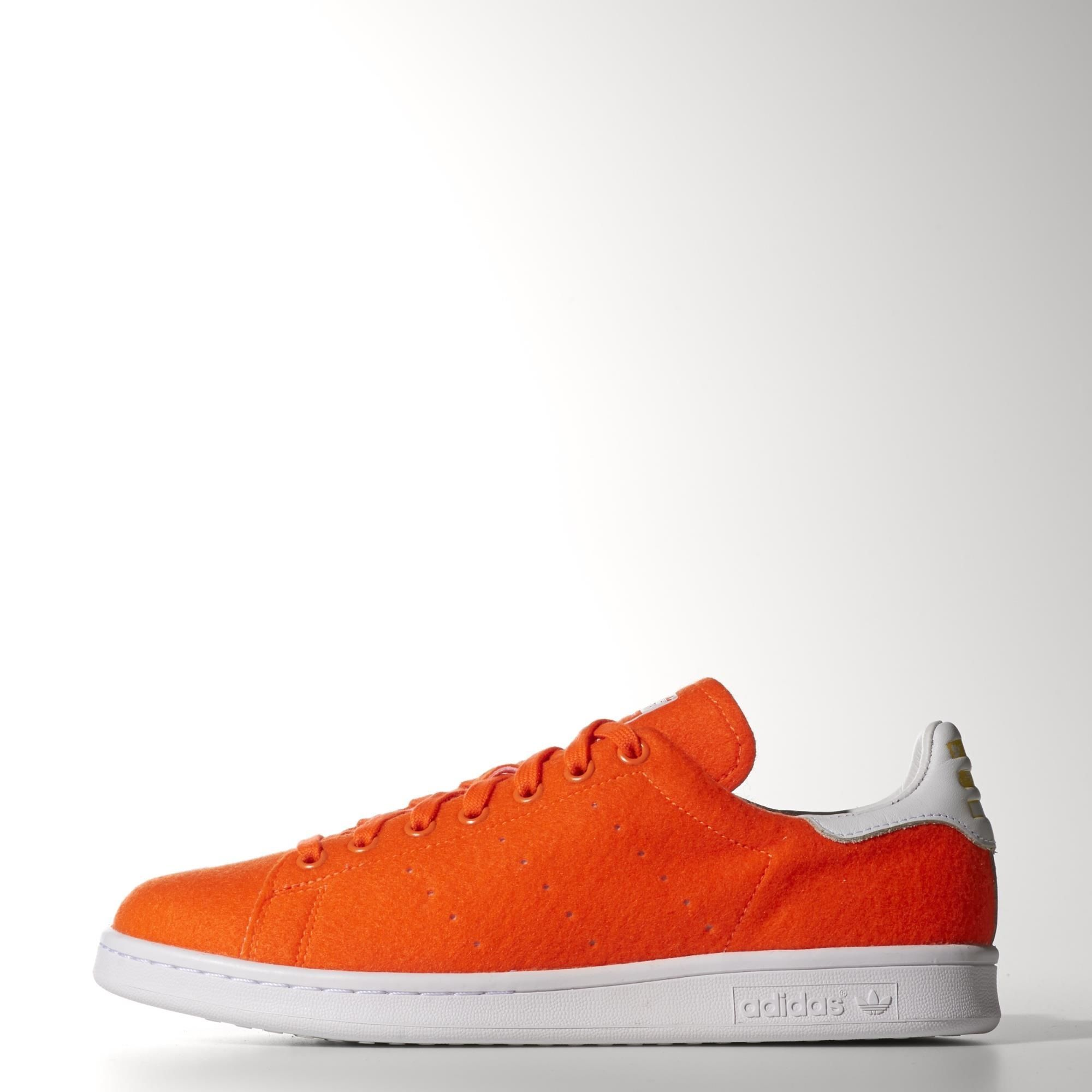 adidas - Pharrell Williams Stan Smith Tennis Shoes they also have an orange  polka dot and