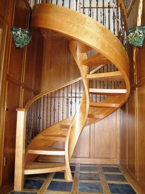 Awesome Wooden Spiral Staircase Plans Wall Coverings Landscape Designers Home Design Diy Remo…