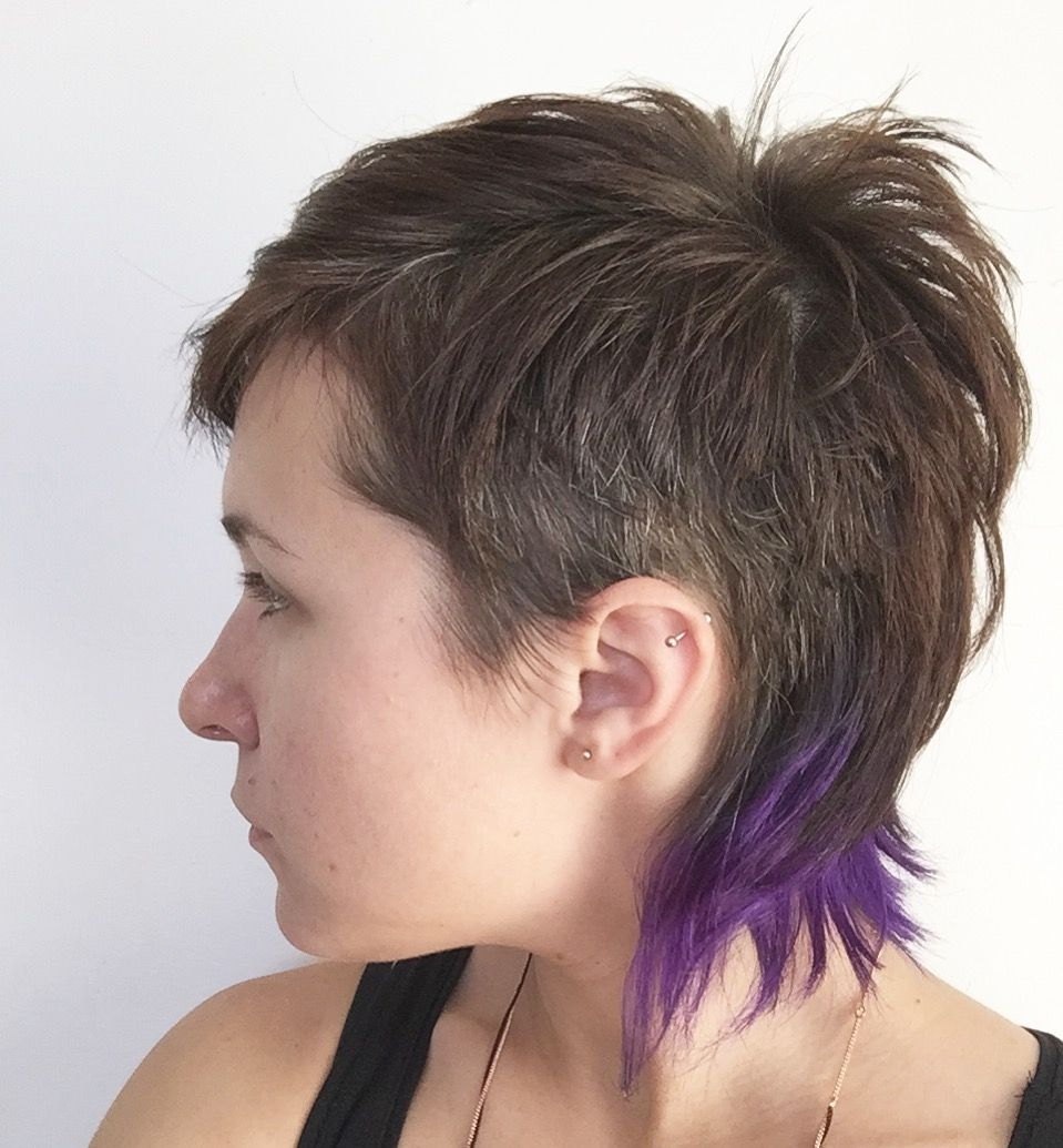 Pin by samjam on hair pinterest mullets short hair and pixies