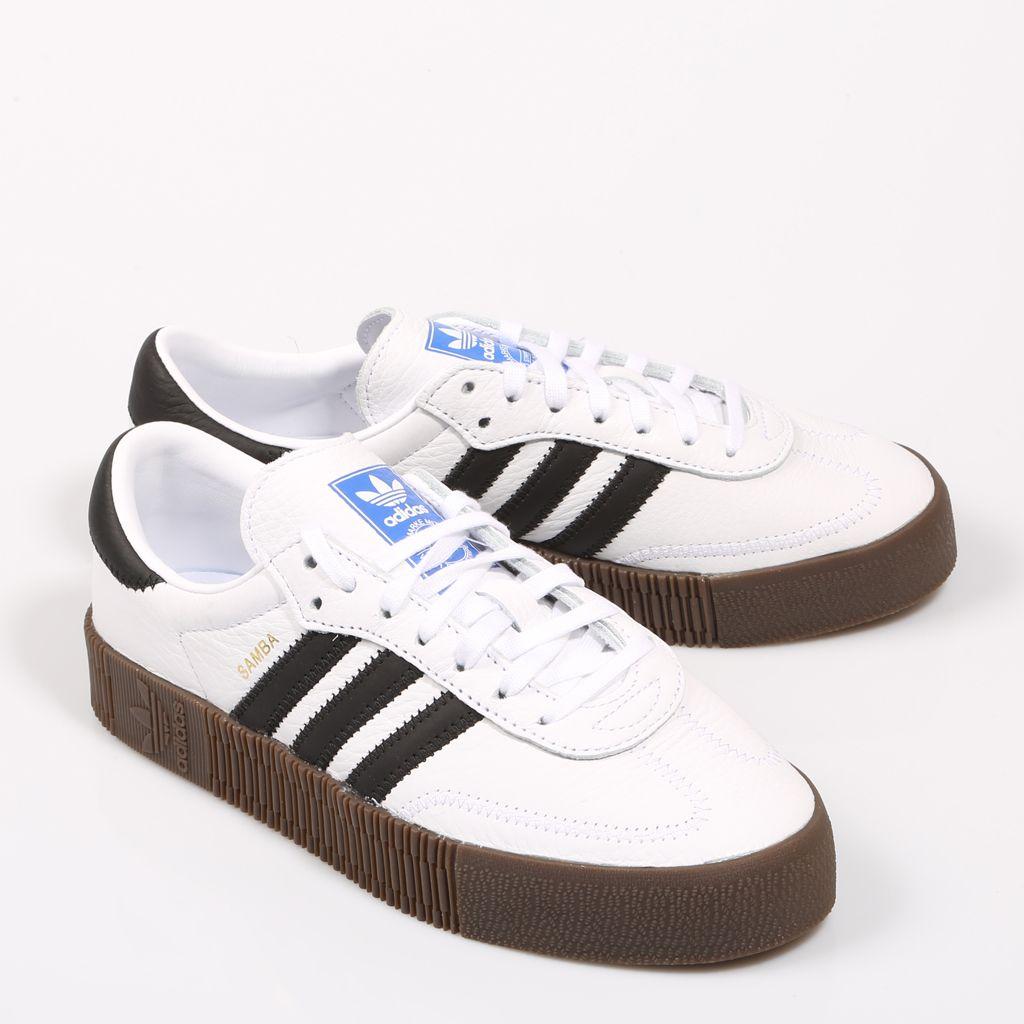 zapatillas adidas samba mujer blancas
