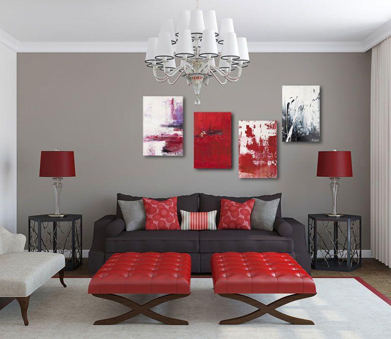 Die Petersburger Hängung | Pinterest | Rote wohnzimmer, Petersburger ...