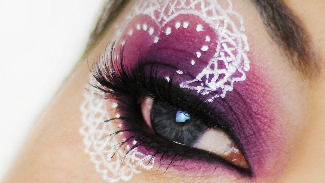 Simple Eye Makeup Looks Tutorial Ideas For Valentine's Day - Femeline