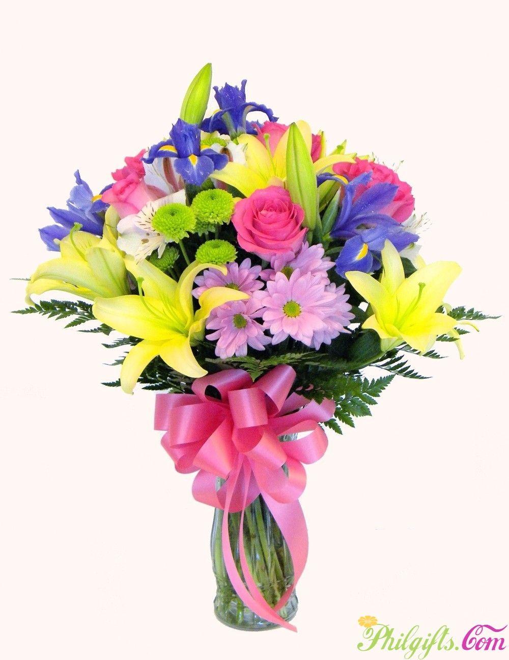 spring flower arrangement for philippines
