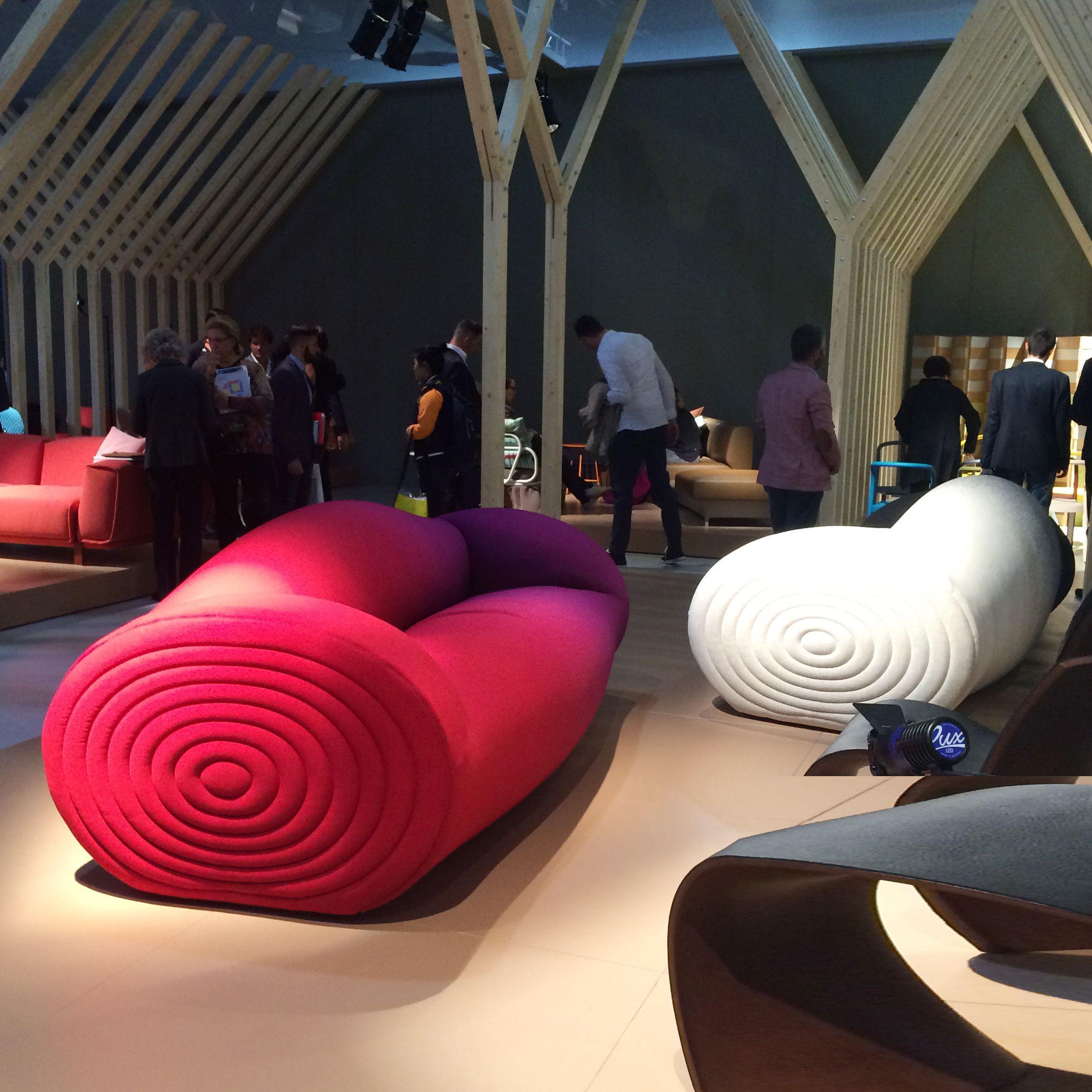 glider sofa von moroso, design ron arad, salone di mobile 2015, Attraktive mobel