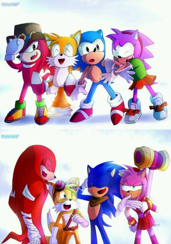 Timeline Photos Sonic The Hedgehog By Kill Devon Includes Ova Knuckles Sonic The Hedgehog Sonic Sonic Funny