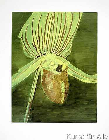 Luc Tuymans - Orchid, 1998