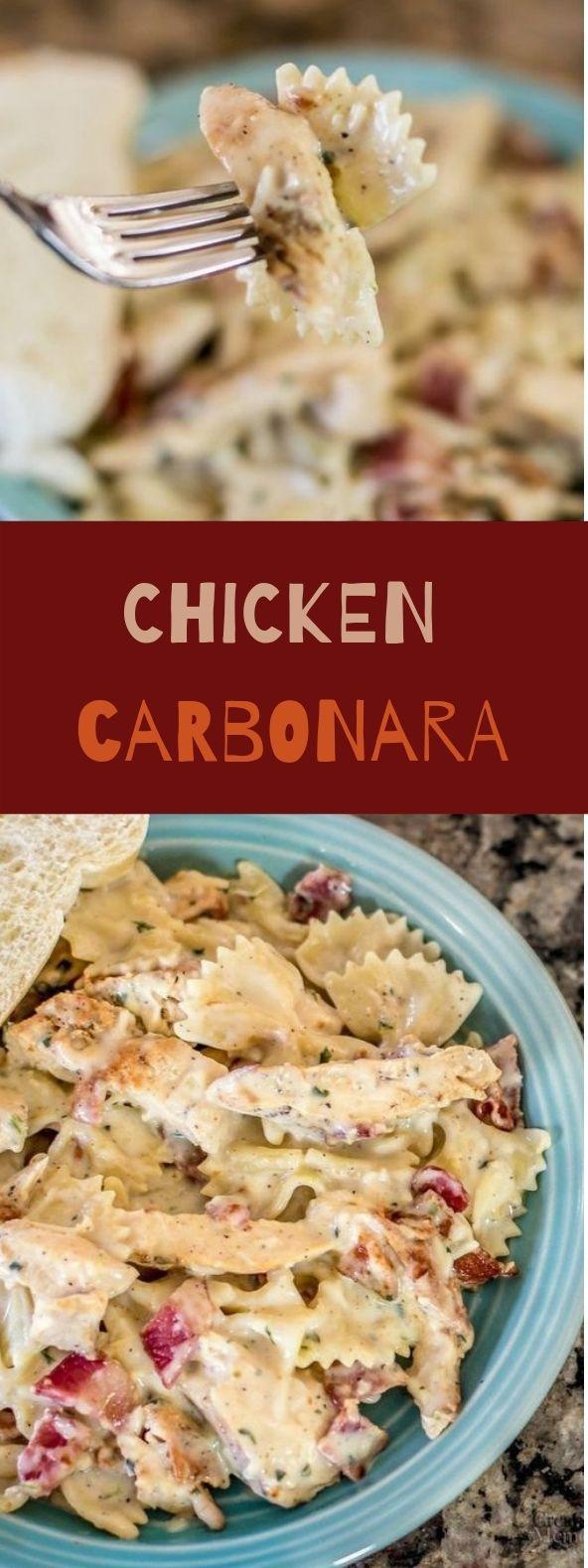 Sensational Chicken Carbonara Bestmeal Pasta Gourmet Chicken Chicken Carbonara Recipe Recipes