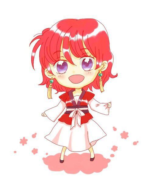 Akatsuki no Yona / Yona of the dawn anime and manga    Chibi princess Yona
